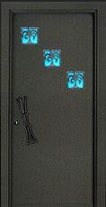 דלת פלדה מעוצבת דגם פלמירה